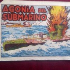 Livros de Banda Desenhada: AGONÍA DEL SUBMARINO. Lote 186231600