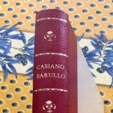 Giornalini: CASIANO BARULLO COMPLETA. (GRAFIDEA 1952). MUY DIFICIL Y ESCASA. ENCUADERNADA. MUY BUENA REEDICION. Lote 190089170