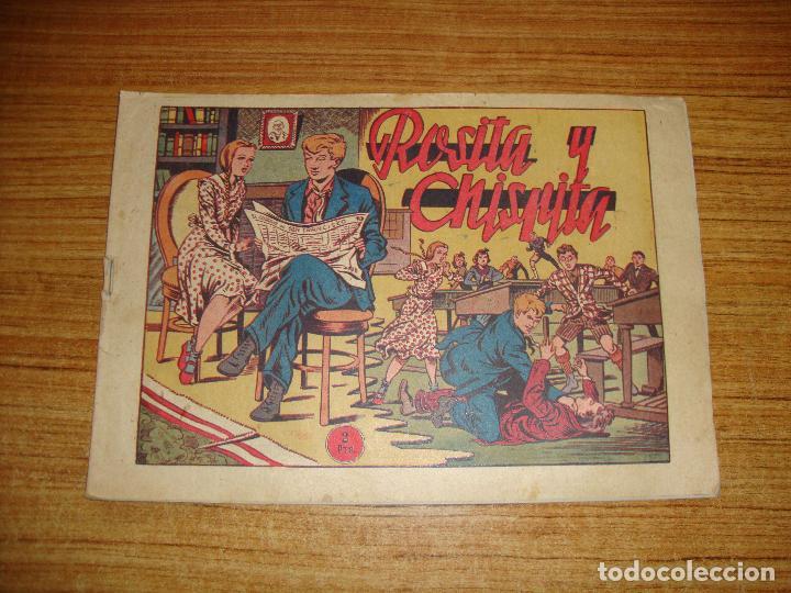 (TC-147) ROSITA Y CHISPITA Nº 8 VER TODAS LAS HOJAS (Tebeos y Comics - Grafidea - Chispita)