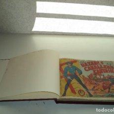Tebeos: EL JINETE FANTASMA AÑO 1947 COLECCIÓN COMPLETA SON 164 TEBEOS ORIGINALES ENCUADERNADA EN 5 TOMOS . Lote 191030492