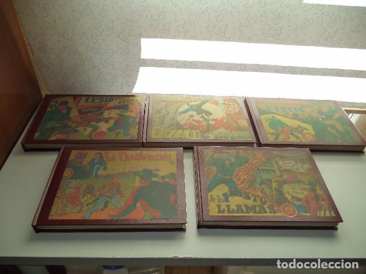 Tebeos: El Jinete Fantasma Año 1947 Colección Completa son 164 Tebeos Originales Encuadernada en 5 Tomos - Foto 2 - 191030492