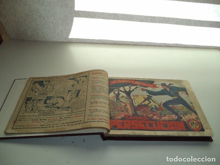 Tebeos: El Jinete Fantasma Año 1947 Colección Completa son 164 Tebeos Originales Encuadernada en 5 Tomos - Foto 4 - 191030492