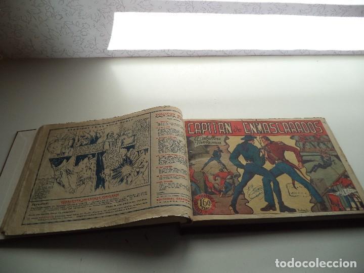 Tebeos: El Jinete Fantasma Año 1947 Colección Completa son 164 Tebeos Originales Encuadernada en 5 Tomos - Foto 5 - 191030492