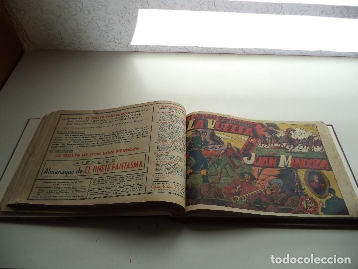 Tebeos: El Jinete Fantasma Año 1947 Colección Completa son 164 Tebeos Originales Encuadernada en 5 Tomos - Foto 6 - 191030492