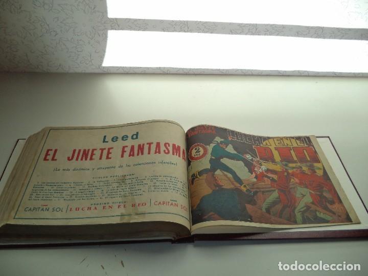 Tebeos: El Jinete Fantasma Año 1947 Colección Completa son 164 Tebeos Originales Encuadernada en 5 Tomos - Foto 7 - 191030492