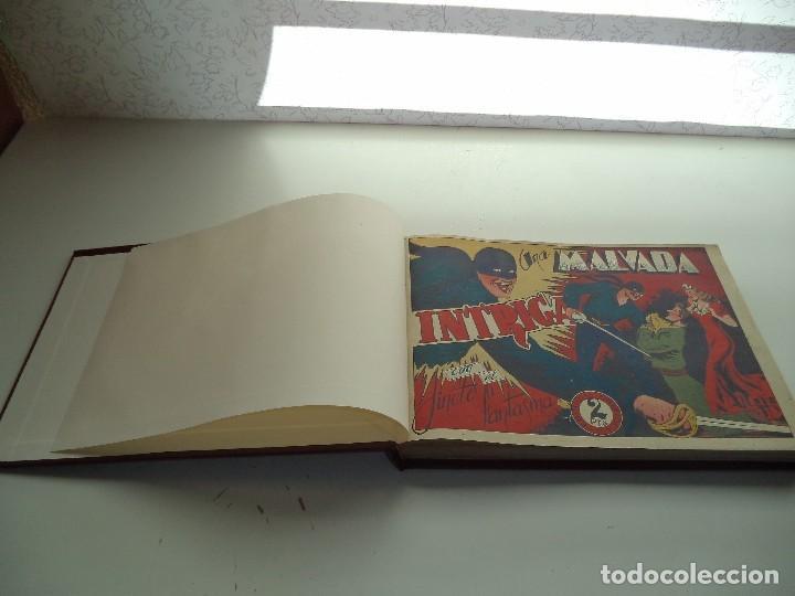 Tebeos: El Jinete Fantasma Año 1947 Colección Completa son 164 Tebeos Originales Encuadernada en 5 Tomos - Foto 8 - 191030492