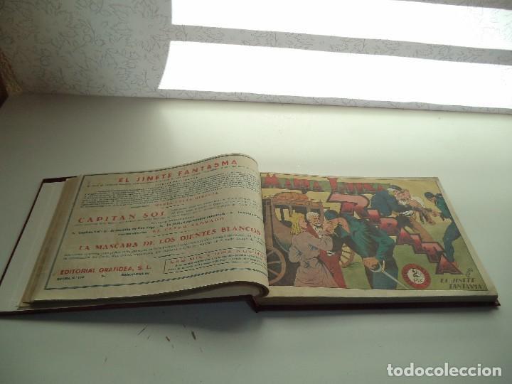 Tebeos: El Jinete Fantasma Año 1947 Colección Completa son 164 Tebeos Originales Encuadernada en 5 Tomos - Foto 9 - 191030492