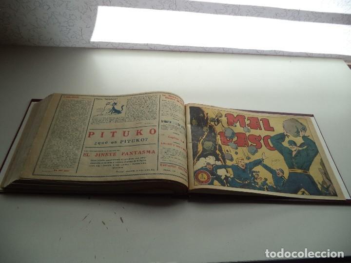 Tebeos: El Jinete Fantasma Año 1947 Colección Completa son 164 Tebeos Originales Encuadernada en 5 Tomos - Foto 12 - 191030492