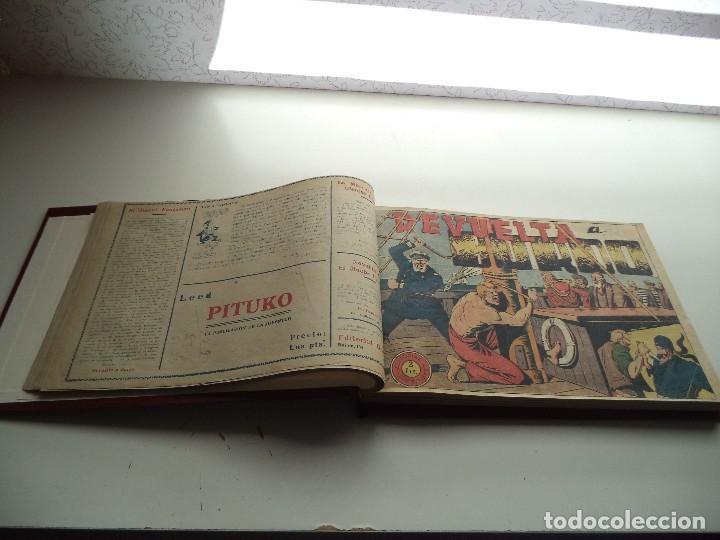 Tebeos: El Jinete Fantasma Año 1947 Colección Completa son 164 Tebeos Originales Encuadernada en 5 Tomos - Foto 14 - 191030492