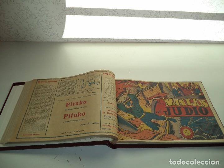 Tebeos: El Jinete Fantasma Año 1947 Colección Completa son 164 Tebeos Originales Encuadernada en 5 Tomos - Foto 15 - 191030492