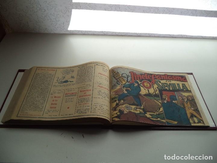 Tebeos: El Jinete Fantasma Año 1947 Colección Completa son 164 Tebeos Originales Encuadernada en 5 Tomos - Foto 16 - 191030492
