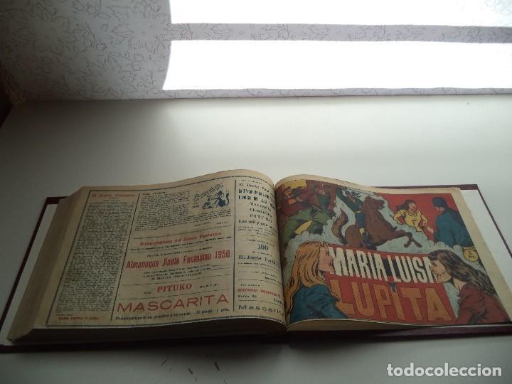 Tebeos: El Jinete Fantasma Año 1947 Colección Completa son 164 Tebeos Originales Encuadernada en 5 Tomos - Foto 17 - 191030492