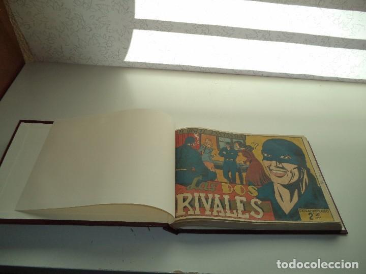 Tebeos: El Jinete Fantasma Año 1947 Colección Completa son 164 Tebeos Originales Encuadernada en 5 Tomos - Foto 18 - 191030492
