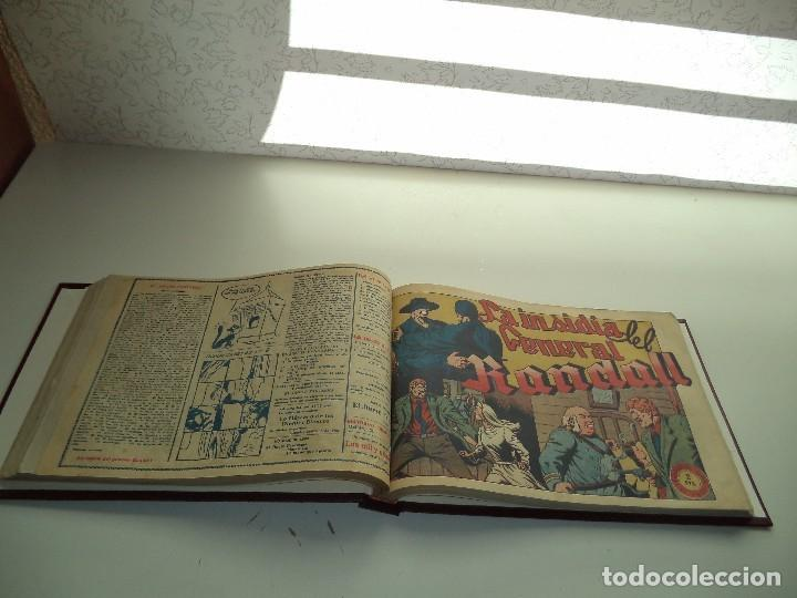 Tebeos: El Jinete Fantasma Año 1947 Colección Completa son 164 Tebeos Originales Encuadernada en 5 Tomos - Foto 19 - 191030492