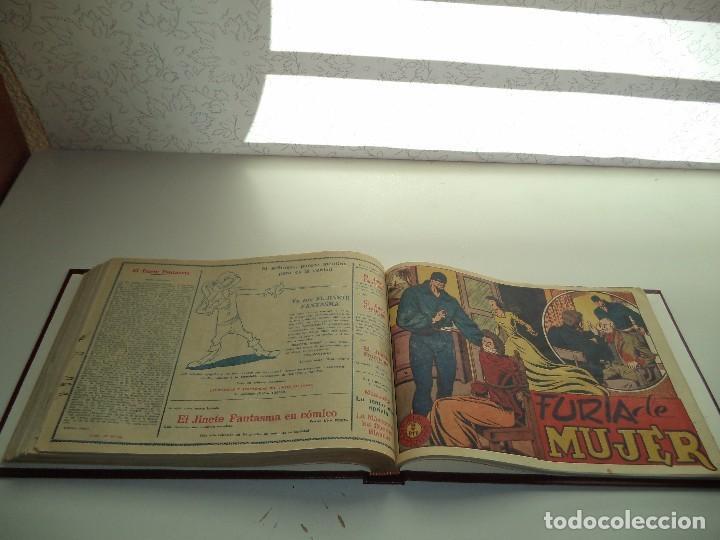 Tebeos: El Jinete Fantasma Año 1947 Colección Completa son 164 Tebeos Originales Encuadernada en 5 Tomos - Foto 20 - 191030492