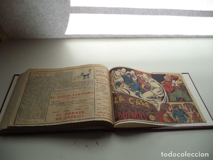 Tebeos: El Jinete Fantasma Año 1947 Colección Completa son 164 Tebeos Originales Encuadernada en 5 Tomos - Foto 21 - 191030492