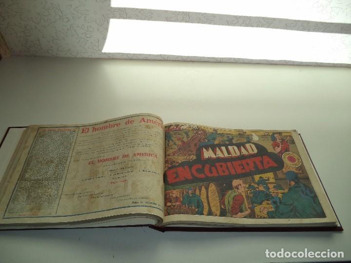 Tebeos: El Jinete Fantasma Año 1947 Colección Completa son 164 Tebeos Originales Encuadernada en 5 Tomos - Foto 23 - 191030492