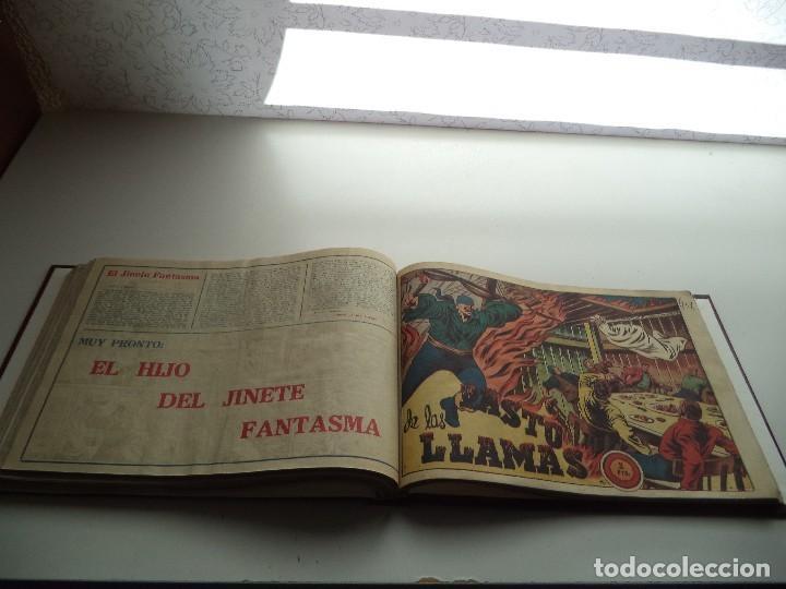 Tebeos: El Jinete Fantasma Año 1947 Colección Completa son 164 Tebeos Originales Encuadernada en 5 Tomos - Foto 24 - 191030492