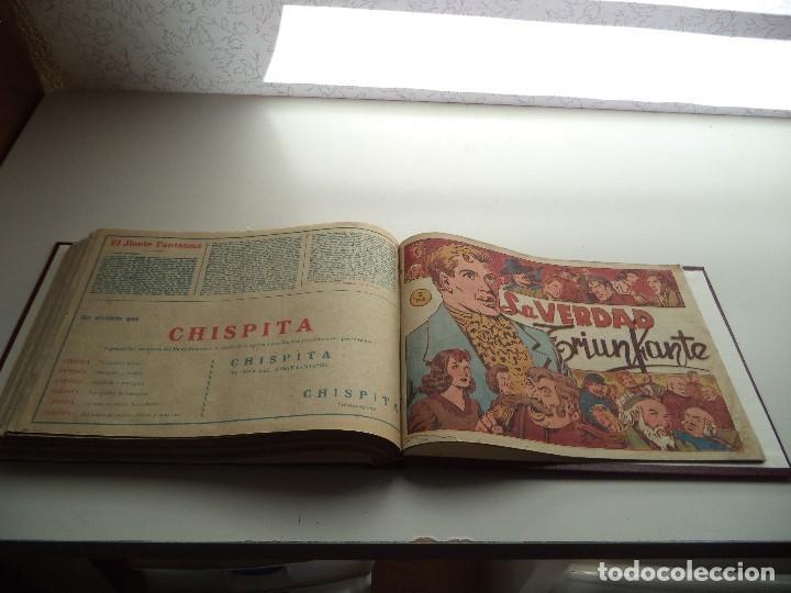 Tebeos: El Jinete Fantasma Año 1947 Colección Completa son 164 Tebeos Originales Encuadernada en 5 Tomos - Foto 25 - 191030492