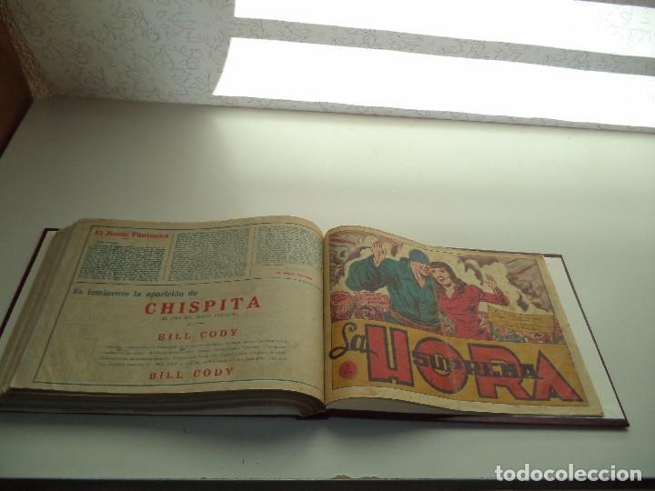 Tebeos: El Jinete Fantasma Año 1947 Colección Completa son 164 Tebeos Originales Encuadernada en 5 Tomos - Foto 26 - 191030492
