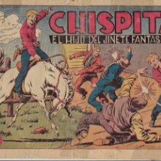 Tebeos: CHISPITA 1ª AVENTURA AÑO 1951 COLECCIÓN COMPLETA SON 24. TEBEOS ORIGINALES DIBUJOS DE AMBRÓS . Lote 191127830