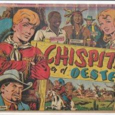 Tebeos: CHISPITA 2ª AVENTURA AÑO 1952 COLECCIÓN COMPLETA SON 24 TEBEOS ORIGINALES MUY DIFICIL DE COMPLETAR. Lote 191129205