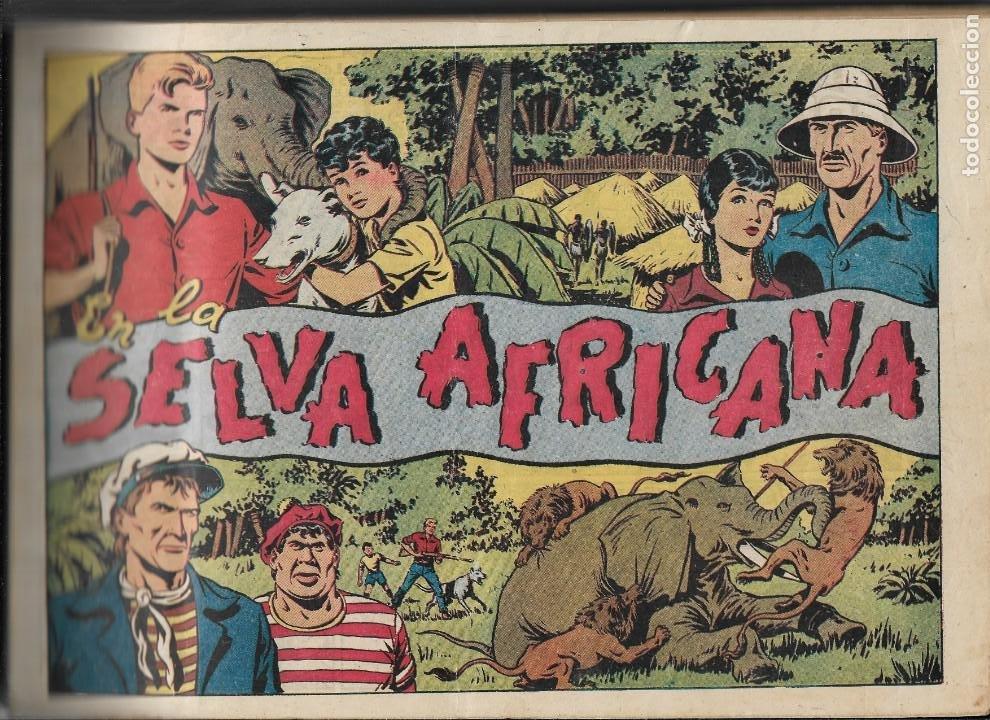 CHISPITA 4ª AVENTURA AÑO 1953 COLECCIÓN COMPLETA SON 48 TEBEOS ORIGINALES ENCUADERNADOS EN 2 TOMOS (Tebeos y Comics - Grafidea - Chispita)
