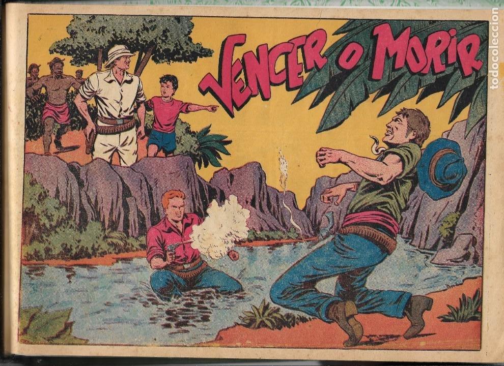 Tebeos: Chispita 4ª Aventura Año 1953 Colección Completa son 48 Tebeos Originales encuadernados en 2 tomos - Foto 3 - 191159746