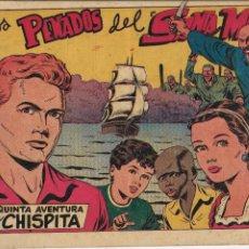 Tebeos: CHISPITA 5ª AVENTURA AÑO 1954 COLECCIÓN COMPLETA SON 24 TEBEOS ORIGINALES NUEVOS Y DIFICILES. Lote 191232261