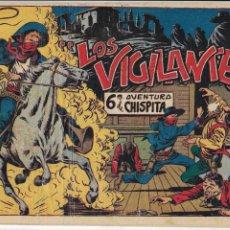 Tebeos: CHISPITA 6ª AVENTURA AÑO 1955 COLECCIÓN COMPLETA SON 24 TEBEOS ORIGINALES ENCUADERNADO EN TOMO. Lote 191288757