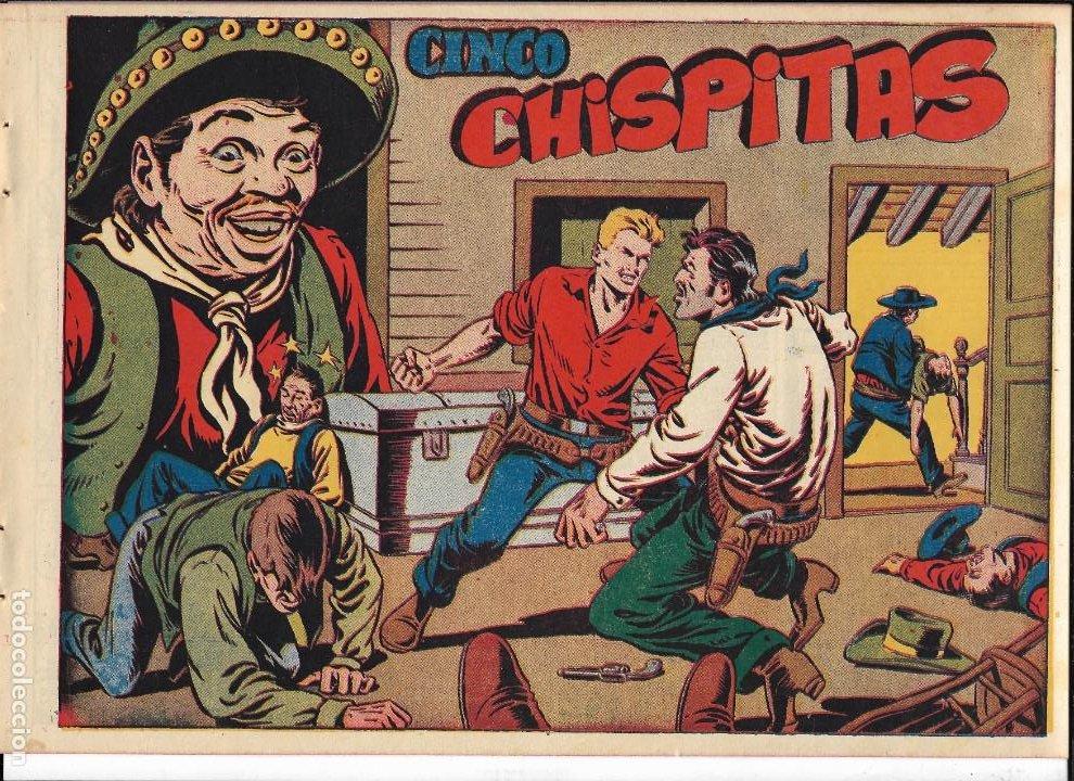 Tebeos: Chispita 6ª Aventura Año 1955 Colección Completa son 24 Tebeos Originales Encuadernado en tomo - Foto 5 - 191288757