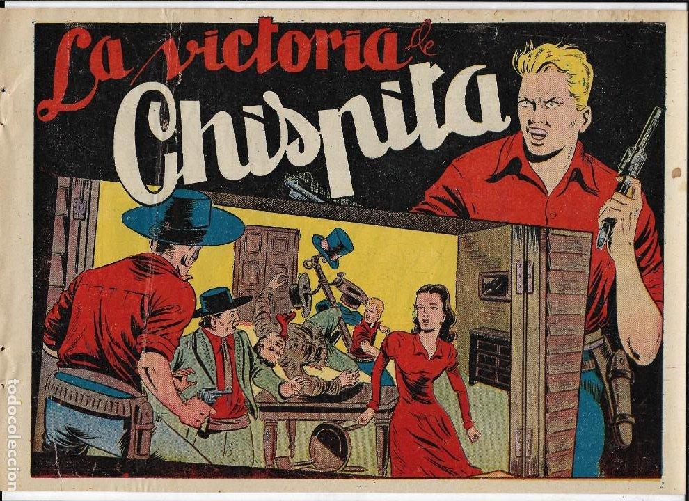 Tebeos: Chispita 6ª Aventura Año 1955 Colección Completa son 24 Tebeos Originales Encuadernado en tomo - Foto 24 - 191288757