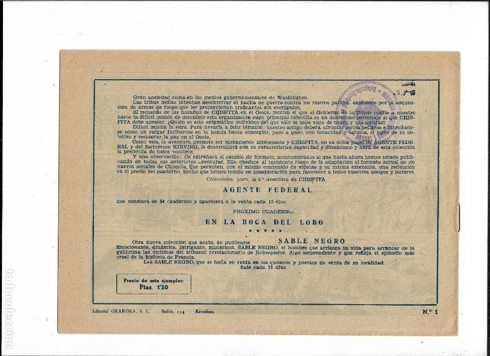 Tebeos: Chispita 8ª Aventura Año 1956 Colección Completa son 24 Tebeos Originales muy dificiles - Foto 2 - 191356811