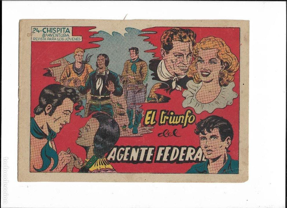 Tebeos: Chispita 8ª Aventura Año 1956 Colección Completa son 24 Tebeos Originales muy dificiles - Foto 3 - 191356811