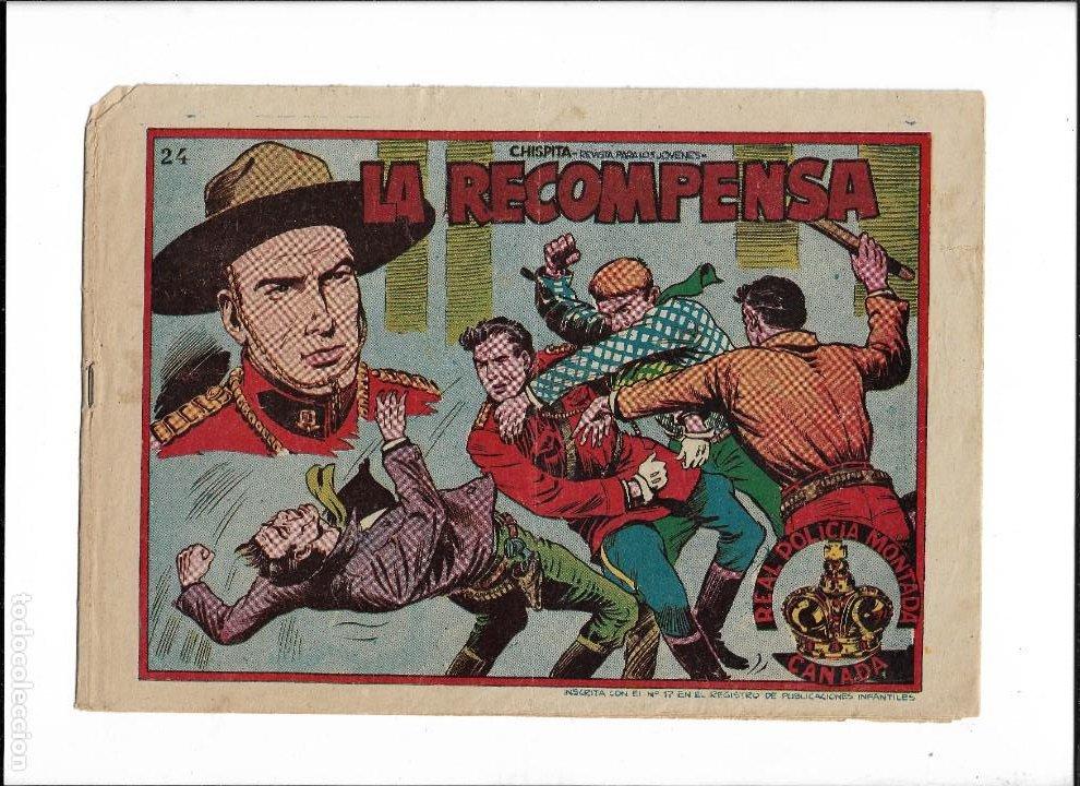 Tebeos: Chispita 10ª Aventura Año 1958 Colección Completa son 24 Tebeos Originales muy dificiles - Foto 3 - 191357742