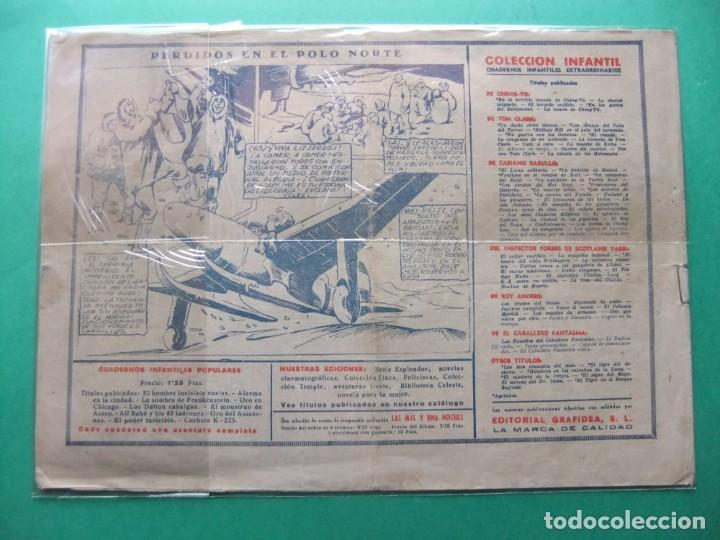Tebeos: EL CABALLERO FANTASMA ( JINETE FANTASMA ) Nº 5 GRAFIDEA ORIGINAL - Foto 2 - 191457120