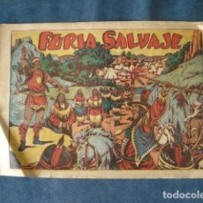 Tebeos: FURIA SALVAJE, CHISPITA 29, TERCERA AVENTURA NÚMERO 5, 1952, GRAFIDEA, USADO. Lote 191578996