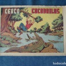 Tebeos: CHISPITA, CUARTA AVENTURA NÚMERO 10: CERCO DE COCODRILOS, 1953. GRAFIDEA, USADO. Lote 191580200
