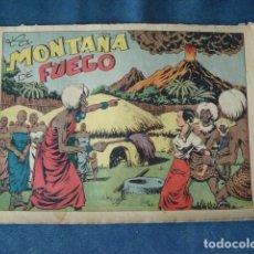 Tebeos: CHISPITA, CUARTA AVENTURA NÚMERO 13: LA MONTAÑA DE FUEGO, 1953, GRAFIDEA, USADO. Lote 191580553