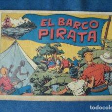 Tebeos: CHISPITA, CUARTA AVENTURA, NÚMERO 14: EL BARCO PIRATA, 1953, GRAFIDEA, USADO. Lote 191580872