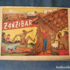 Tebeos: CHISPITA, CUARTA AVENTURA, NÚMERO 21: ZANZIBAR, 1953, GRAFIDEA, USADO. Lote 191581552