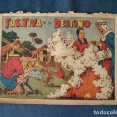 Tebeos: CHISPITA, CUARTA AVENTURA NÚMERO 22: FUGITIVA DE SU DESTINO, 1953, GRAFIDEA, USADO. Lote 191581842