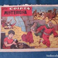 Tebeos: CHISPITA, CUARTA AVENTURA, NÚMERO 26: LA CRIPTA MISTERIOSA, 1953, GRAFIDEA, USADO. Lote 191582075