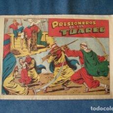 Tebeos: CHISPITA, CUARTA AVENTURA, NÚMERO 28: PRISIONEROS DE LOS TUAREG, 1953, GRAFIDEA, USADO. Lote 191582387