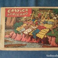 Tebeos: CHISPITA, CUARTA AVENTURA NÚMERO 31: CASTIGO AFRICANO, 1953, GRAFIDEA, USADO. Lote 191582658