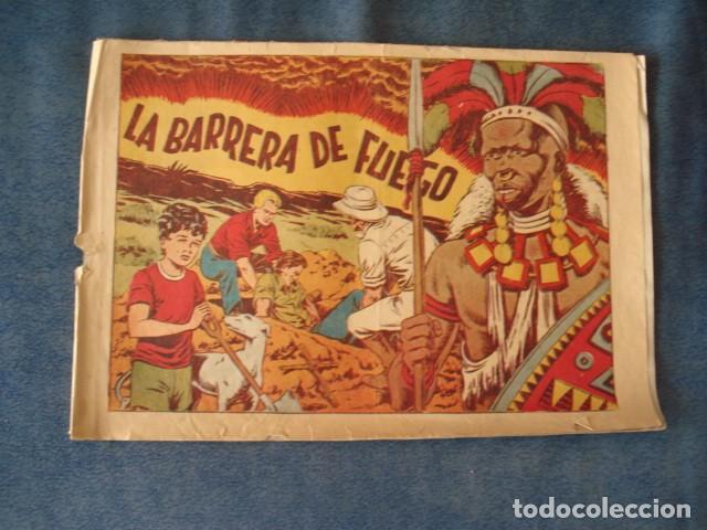 CHISPITA, CUARTA AVENTURA, NÚMERO 39: LA BARRERA DE FUEGO, 1953, GRAFIDEA, USADO (Tebeos y Comics - Grafidea - Chispita)