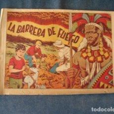 Tebeos: CHISPITA, CUARTA AVENTURA, NÚMERO 39: LA BARRERA DE FUEGO, 1953, GRAFIDEA, USADO. Lote 191583006