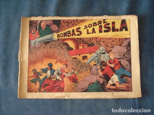 CHISPITA, QUINTA AVENTURA, NÚMERO 2: BOMBAS SOBRA LA ISLA, 1954, GRAFIDEA, USADO (Tebeos y Comics - Grafidea - Chispita)