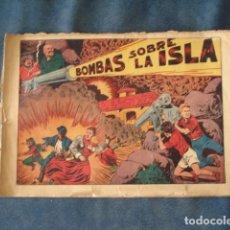 Tebeos: CHISPITA, QUINTA AVENTURA, NÚMERO 2: BOMBAS SOBRA LA ISLA, 1954, GRAFIDEA, USADO. Lote 191583775
