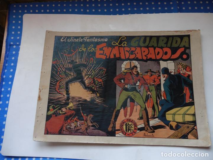 JINETE FANTASMA Nº 14 EN LA GUARIDA DE LOS ENMASCARADOS ORIGINAL (Tebeos y Comics - Grafidea - El Jinete Fantasma)